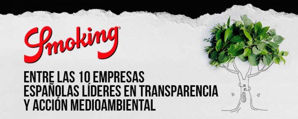 Smoking®, entre las 10 marcas líderes en transparencia y acción medioambiental