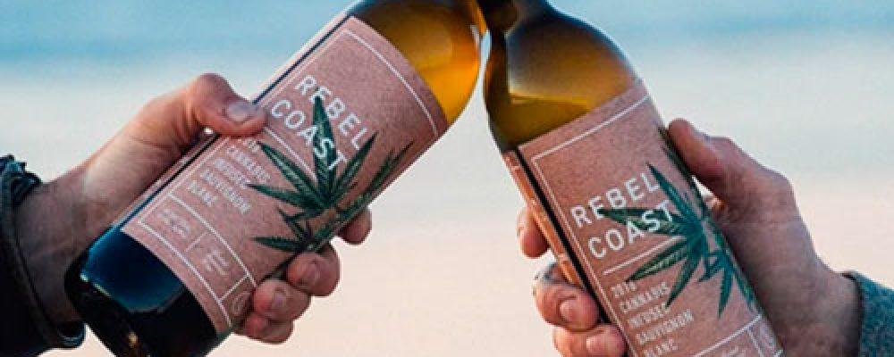 Venden el primer vino con marihuana en California