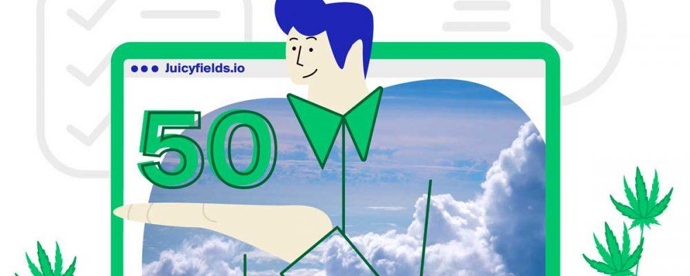 Cómo convertí 50€ en un rentable negocio de cannabis en menos de 108 días