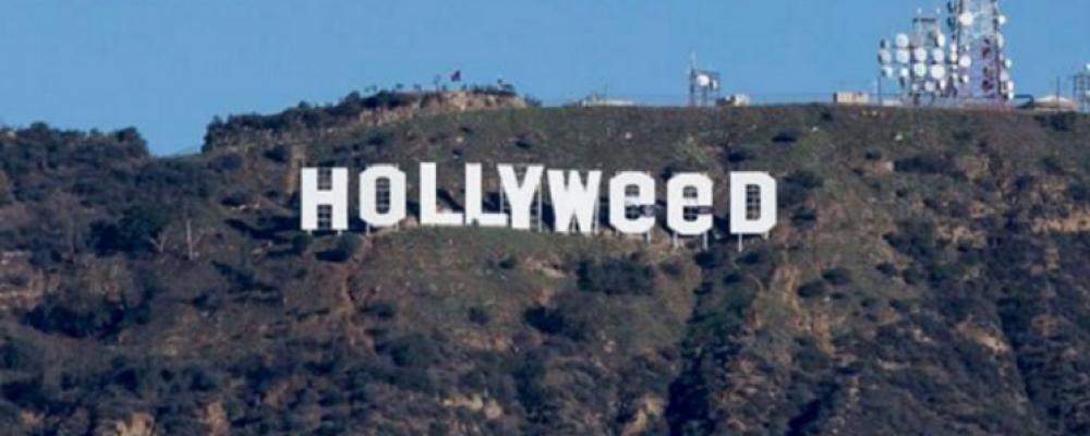 El cambio al letrero de Hollywood que recuerda que en California la marihuana ya es legal